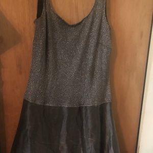 Lady's Sleeveless Evening Dress